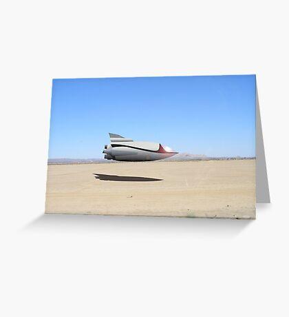 Desert Landing Greeting Card