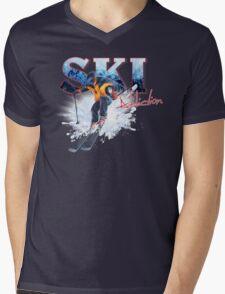 Ski Addiction Mens V-Neck T-Shirt