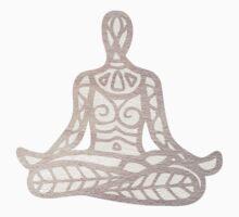 lotus pose One Piece - Short Sleeve