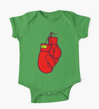 Boxing Gloves One Piece - Short Sleeve