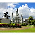 New Orleans Jackson Square by Sandra Russell