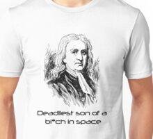 Mass Effect Isaac Newton is deadly Unisex T-Shirt