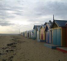 Brighton Beach Houses by StephBauer