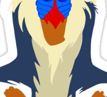Vector Rafiki Sticker
