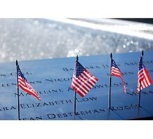Honored & Remembered Photographic Print