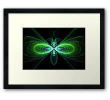 The Fly who loves me Framed Print