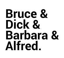 Batman Character Names by onezenmom