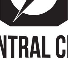 Central City Running Club Black Sticker