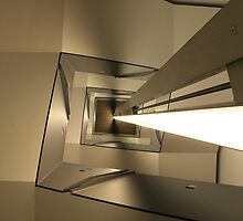 Stair Abstract, ICA Museum, Boston by Jane McDougall