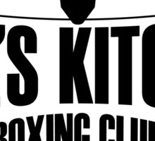Hell's Kitchen Boxing Club - Black Sticker