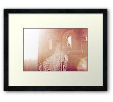 Lightly Ruined Framed Print