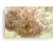 """Antique Roses....."" Canvas Print"