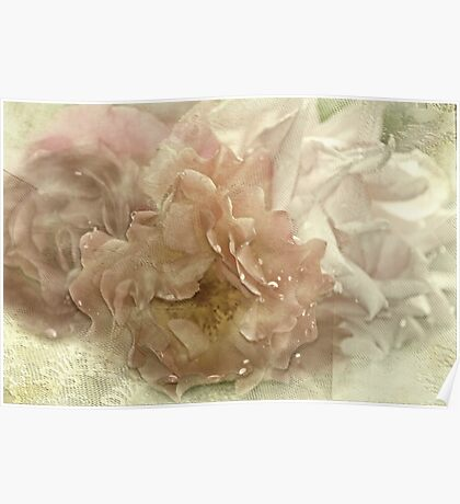 """""""Antique Roses....."""" Poster"""