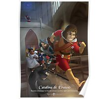 Catalina de Erauso - Rejected Princesses Poster