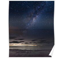 Galaxy View from Yorke Peninsula Poster