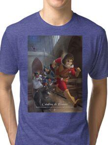 Catalina de Erauso - Rejected Princesses Tri-blend T-Shirt