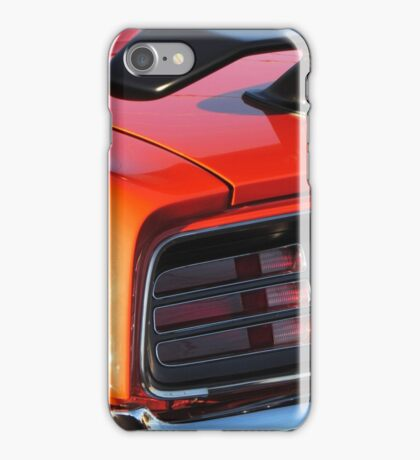 1970 Plymouth 340 'Cuda Tail  iPhone Case/Skin