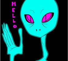 Alien Greeting by Tessa L