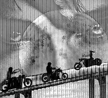Biker's Moon by wiscbackroadz