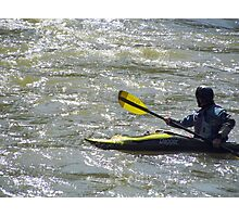 White Water Rafter Photographic Print