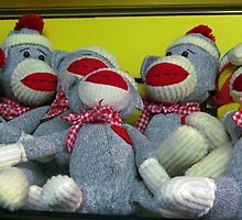 So Many Sock Monkeys! by Nevermind the Camera Photography