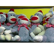 So Many Sock Monkeys! Photographic Print