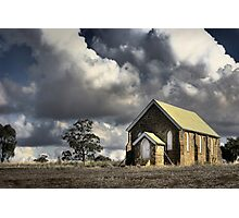 Country Church ... colour version Photographic Print