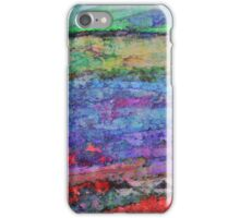 Abstract Horizontals iPhone Case/Skin