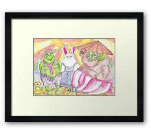 The Willendorfs of Venus Framed Print