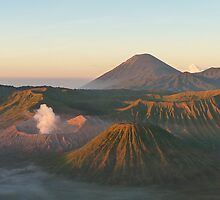 Mount Bromo at dawn, Indonesia  by Miss Fruit Joy ♥  Photography