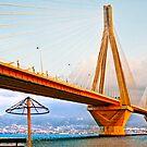 Rio-Antirio Bridge II Patra,Greece by Clockworkmary