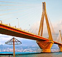 Rio-Antirio Bridge II Patra,Greece by Clockworkmary