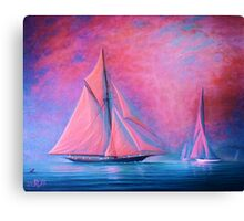 Mysterious Bay Canvas Print