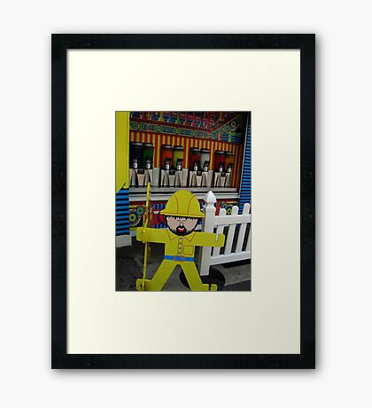 You Shall Not Pass! Framed Print