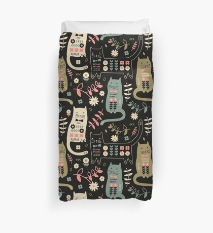 Cat Folk  Duvet Cover