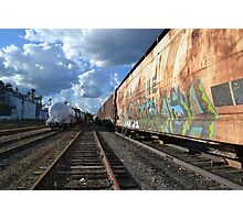 Travelling Canvas Photographic Print