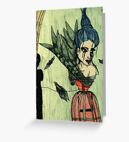 Blackbird Greeting Card