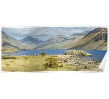 Wastwater Shoreline Poster