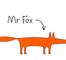 Mr Fox by Anny Arden