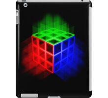 Glowing Rubix Cube iPad Case/Skin