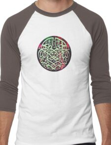 Bismillah Water colour 1 Men's Baseball ¾ T-Shirt