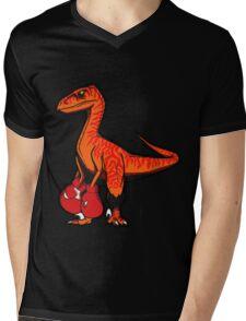 Velociboxer Mens V-Neck T-Shirt
