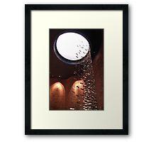 Skylight Screen, MIT chapel Framed Print