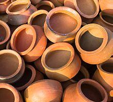 Mud pots  by Sudheerhegde