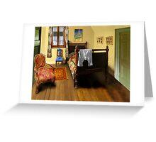 homage to van gogh's 'bedroom at arles' Greeting Card
