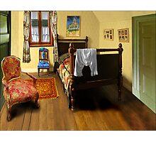 homage to van gogh's 'bedroom at arles' Photographic Print