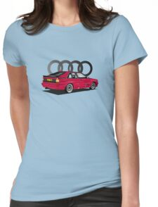 AUDI Ur-Quattro Womens Fitted T-Shirt