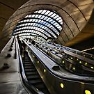 Canary Wharf Jubilee Line by hebrideslight