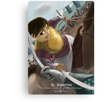 La Jaguarina - Rejected Princesses Canvas Print