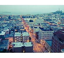Powell Street at 6am Photographic Print